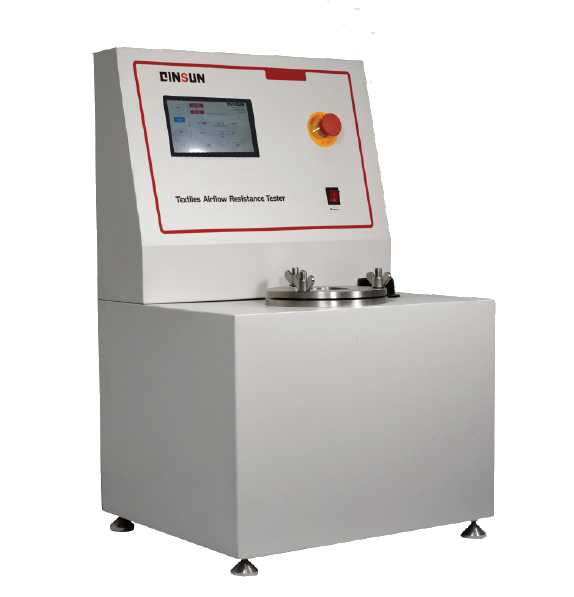 Air Flow Resistance Tester