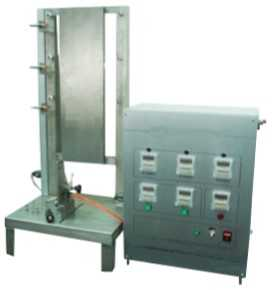 Fabric Vertical Flame Spread Performance Tester