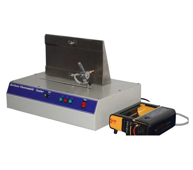 Surface combustion tester